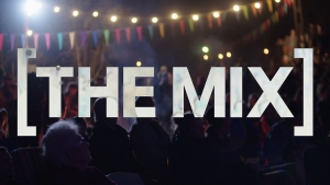 """Nicholas Galanin interviewed for the television show """"The Mix"""""""