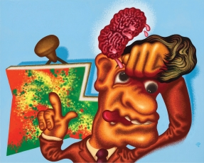 """Peter Saul: Pop, Funk, Bad Painting and More"" at Le Delta, Namur"