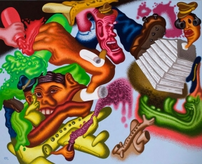 """Peter Saul: Crime and Punishment"" at the New Museum, New York"