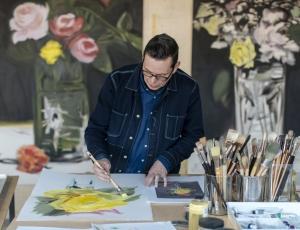 400 % Manet: A Studio Visit with Tim Bavington