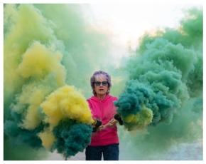Judy Chicago: Rainbow AR