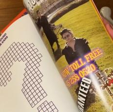 Holly Harrell in Line Magazine