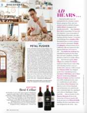 Bradley Sabin featured in Architectural Digest October 2015