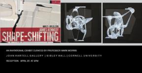 "James Kennedy Exhibition, ""Shape-Shifting"""