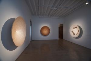 Benitha Perciyal, Critical Collective, Amrita Gupta Singh, raw materials, coconut, resin, wood, frankincense, raw banana fibre, minimalism, minimalist abstraction, Arte Povera