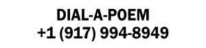 John Giorno Foundation Announces Official Dial-A-Poem Phone Line at +1 (917) 994-8949