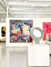 Manolis Projects Art Basel Miami 2019 show installation view
