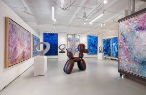 Interior of Manolis Projects Gallery 1