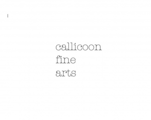 the gallery logo from 2009 that reads Callicoon Fine Arts in the American Typewriter font