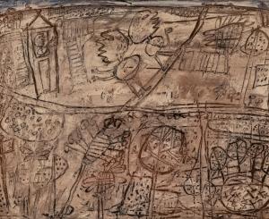 Dubuffet L'adieu à la fenêtre [Farewell from the Window], June 3, 1949