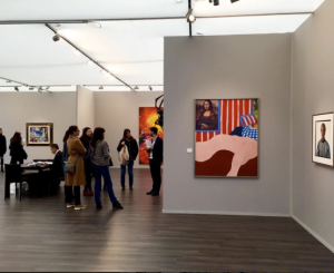 Wesselmann and others booth installation