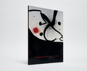 Acquavella 92 Catalogue Cover