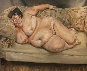 Lucian Freud  Benefits Supervisor Sleeping, 1995