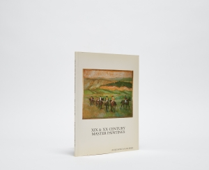 XIX & XX Century Master Paintings Catalogue Cover