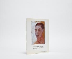 XIX & XX Century Master Paintings Catalogue Cover