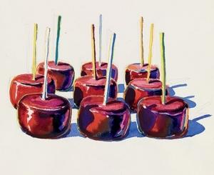 Wayne Theibaud, Nine Jelly Apples, 1964