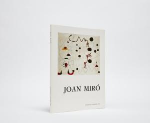 Joan Miró Catalogue Cover