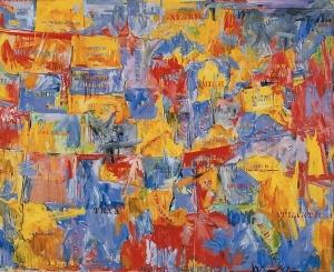 "Jasper Johns' ""Map,"" 1961"