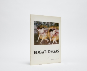 Edgar Degas Catalogue Cover