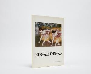 Edgar Degas Catalogue Cover