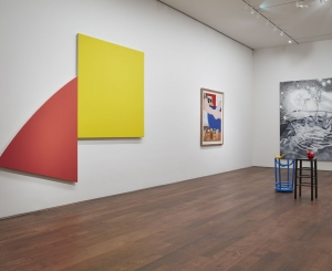 Installation view of Masterworks: From Cézanne to Thiebaud