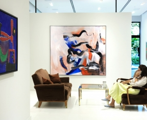 Installation view of Masterworks: From Cézanne to Thiebaud Palm Beach