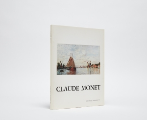 Claude Monet Catalogue Cover