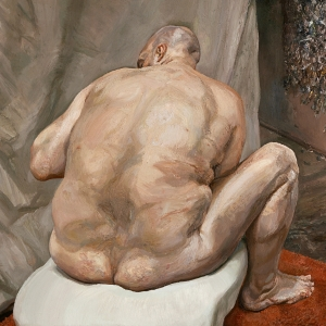 Lucian Freud, Naked Man, Back View, 1991-92