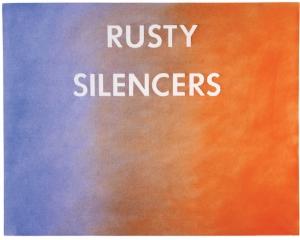 Ed Ruscha, Rusty Silencers, 1979