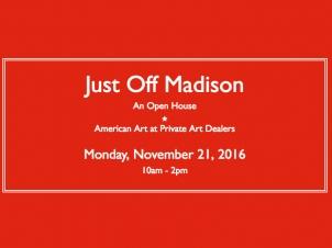 Just Off Madison, November 2016