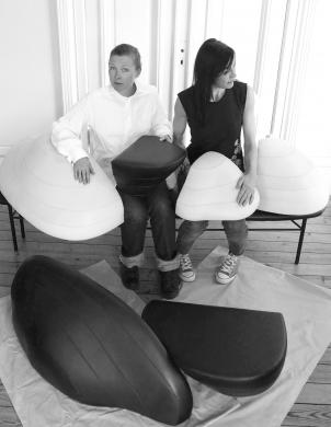 Louise Hederström and Carina Grefmar