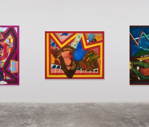 Peter Williams, The George Floyd Triptych, 2020