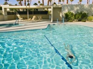 Man swimming by Brandon Herman