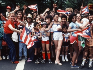 Puerto Rican Day Parade by Arlene Gottfried