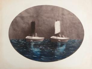 Toy boats by Dan Estabrook