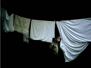 Drying clothes by Julia Peirone