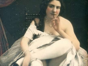 Photograph of prostitute