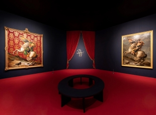 Kehinde Wiley: Two Napoleons in Brooklyn, One in Timberlands