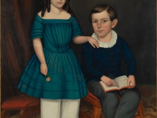 Joseph Whiting Stock, John and Louisa Stock, 1845