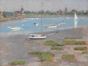 Low Tide, Riverside Yacht Club, 1894