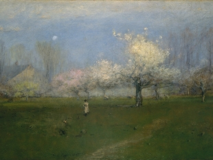 Spring Blossoms, Montclair, New Jersey, ca. 1891