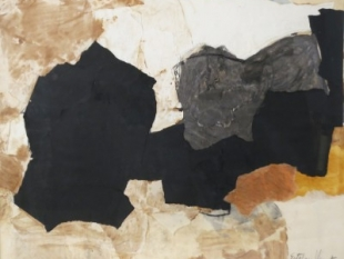 Black, White and Orange, 1962