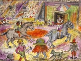 Untitled (Circus Scene), circa 1950