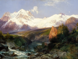 The Teton Range, 1897