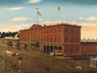 The Third Avenue Railroad Depot, ca. 1859–60