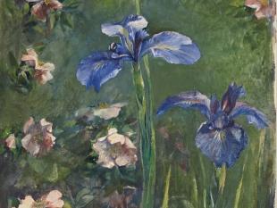 Wild Roses and Irises, 1887