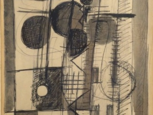 Untitled Drawing No. 1, 1962