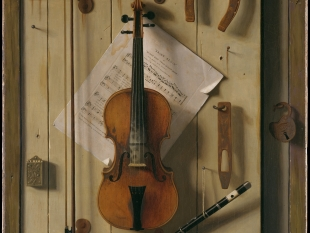Still Life—Violin and Music, 1888