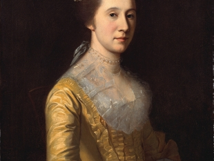Margaret Strachan (Mrs. Thomas Harwood), ca. 1771