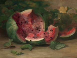 Cracked Watermelon, ca. 1890–95
